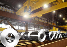 Metal coil production