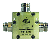 PD50-2 2-Way Power Divider 4.9-6.0 GHz N Jack